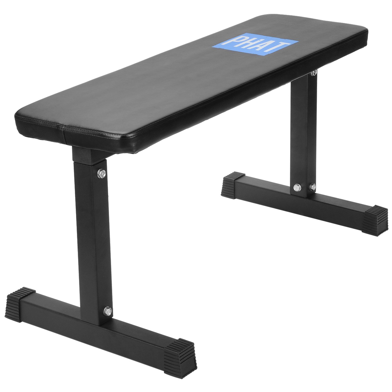 PHAT Utility Flat Weight Bench, Sit up Crunch Board Abdominal Fitness, Weight Training Abs Exercises Flat Equipment