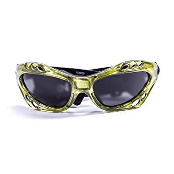 Ocean Sunglasses Cumbuco - Gafas de Sol polarizadas - Montura : Azul - Lentes: Fumée