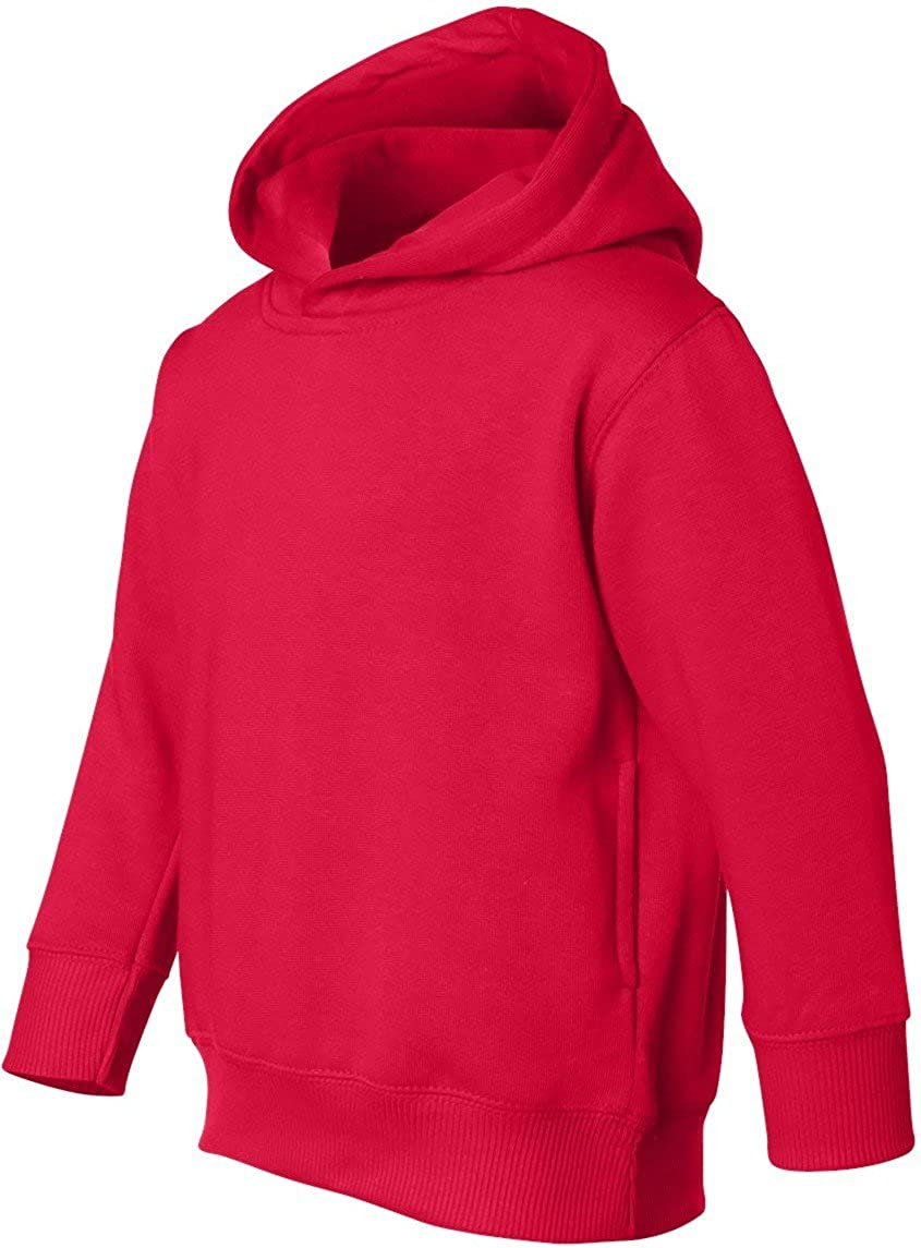 Rabbit Skins Toddler 7.5 oz Pullover Hooded Sweatshirt. 3326