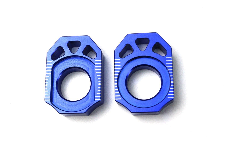 Axle Block Chain Adjuster For Yamaha YZ125 YZ250 YZ250F YZ450F YZ250X YZ250FX
