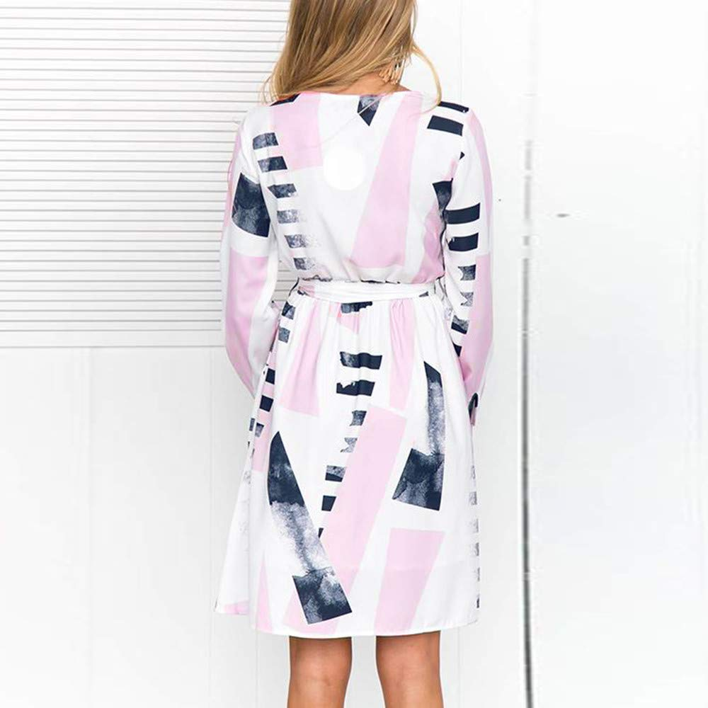 ❤️Vestido Casual Irregular para Mujer, Vestido Estampado con Forma de Mujer Absolute: Amazon.es: Ropa y accesorios