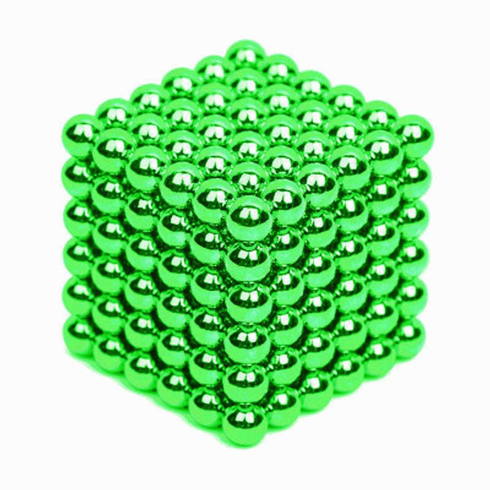 XHN 3MM Buck Balls for Kids, Sculpture Building Blocks Fidget Gadget Toys for Stress Relief, Office Stress Relief Toys for Adults with a Beautiful Iron box-F-432pcs by XHN