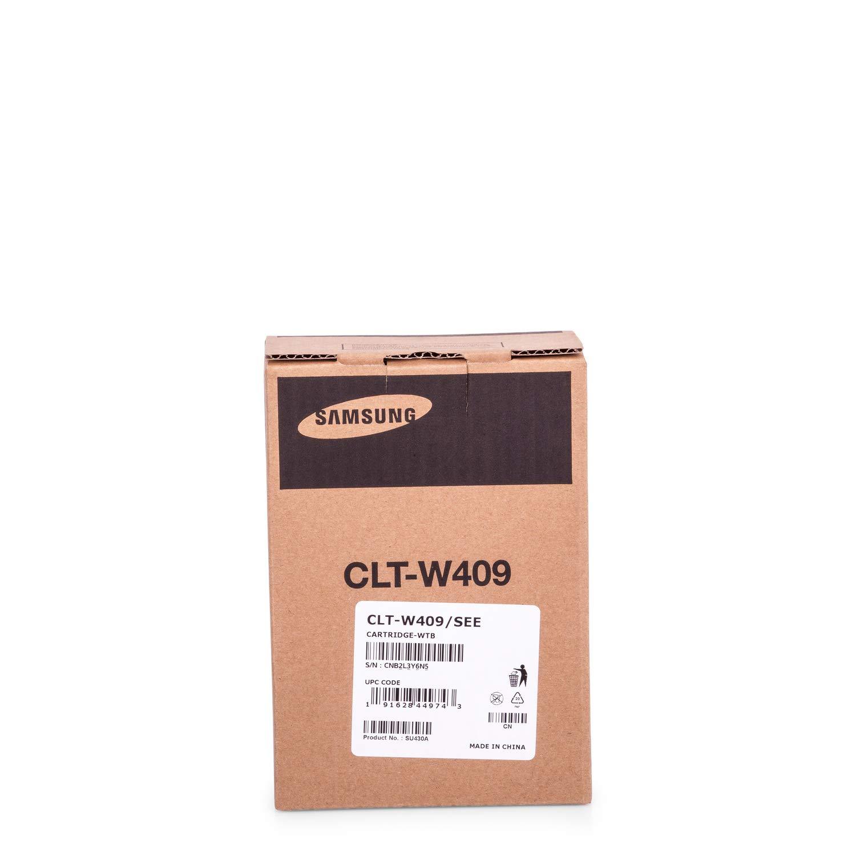 Original Resttonerbeh/älter passend f/ür Samsung CLX-3175 FN Samsung W409 CLTW409 CLT-W409 CLTW409SEE 10000 Seiten Farblos Premium Tonerbeh/älter