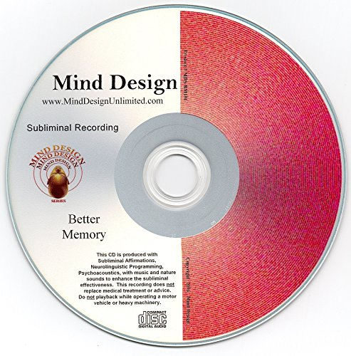 Have Better Memory! Subliminal CD - Improve Your Memory! Music Compact Disc Mind