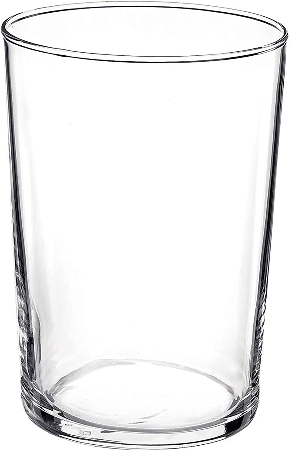 Bormioli Rocco Bodega Collection Glassware Set Of 12 Maxi 17 Ounce Drinking Glasses For Water Beverages Cocktails 17oz Clear Tempered Glass Tumblers Transparent Old Fashioned Glasses Tumblers Water Glasses