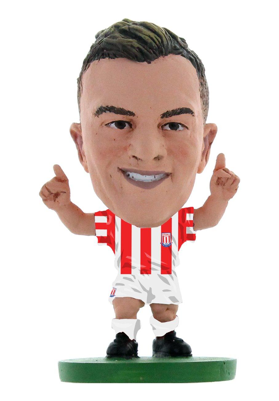 Soccer Starz soc1053 Stoke Xherdan Shaqiri Home Kit Creative Toys Company