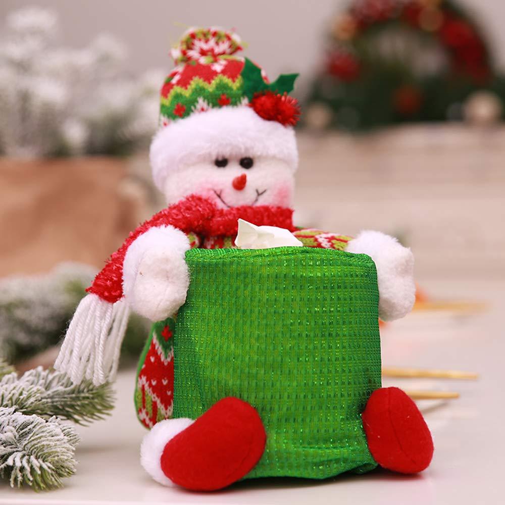 Fly stone Calza Natalizia con Decorazione Albero di Natale (3 PZ) Decorazioni Natalizie con Babbo Natale e Modelli di Renne per Decorazioni per Feste huayanghui sd-02