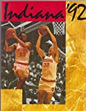 img - for Indiana basketball '92 book / textbook / text book