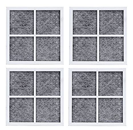 78f08a396f0d0 Air Filter Replacement for LG LT120F Kenmore Elite 469918 Refrigerator  ADQ73214402, ADQ73214404-4 Packs