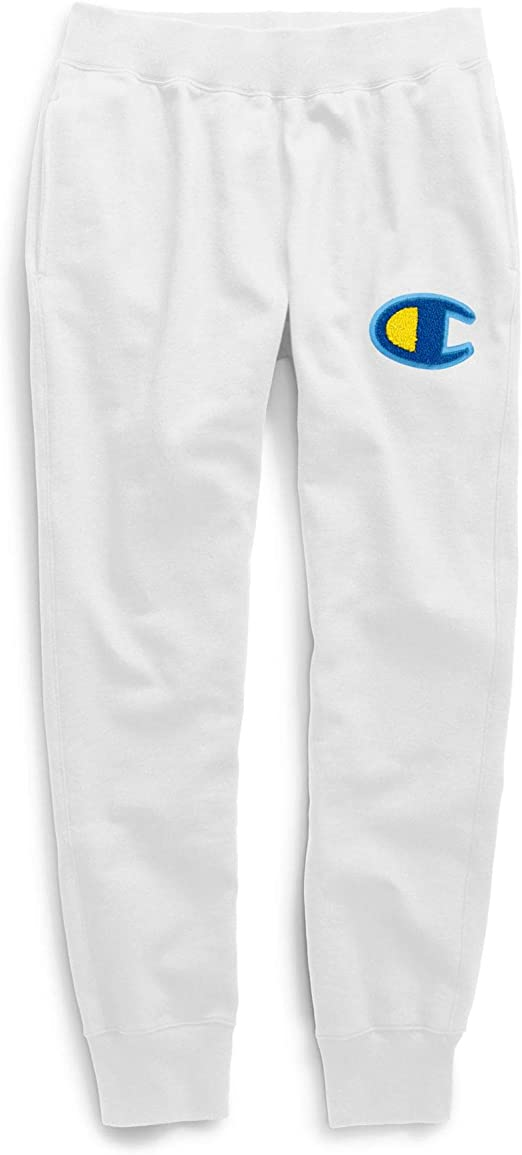Champion LIFE - Pantalones de chándal para Hombre - Blanco - Large ...