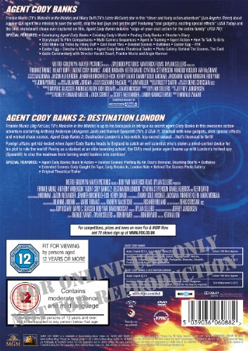 Agent Cody Banks / Agent Cody Banks 2: Destination London Double Pack [DVD] [2003]
