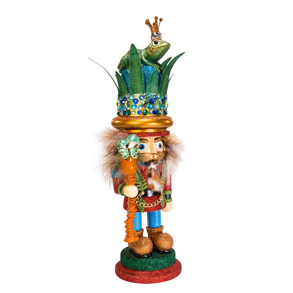 Kurt Adler 17.75'' Hollywood Frog Prince Nutcracker