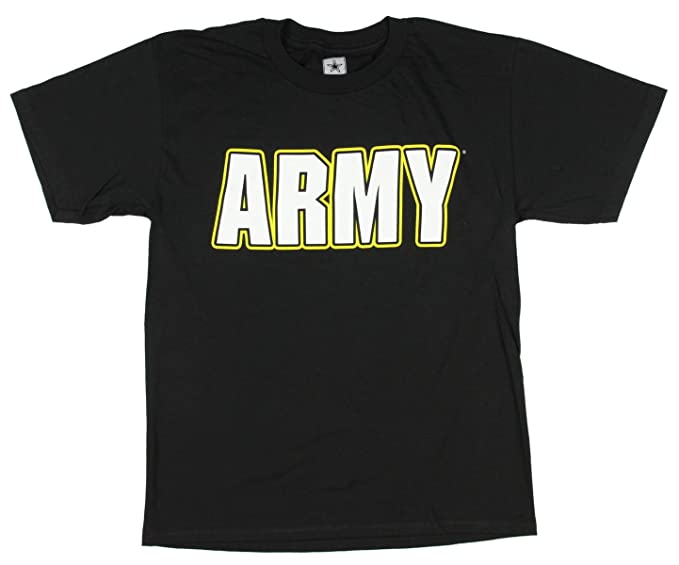 f5ba1c36239 Amazon.com: U.S ARMY Officially Licensed Logo Boys T Shirt (X-Large ...