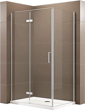 date de sortie: magasiner pour véritable pour toute la famille Paroi de douche fixe et porte pivotante en verre NANO ...