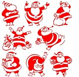 Christmas Window stickers 14pcs Red Home Party Decorations - Best Reviews Guide