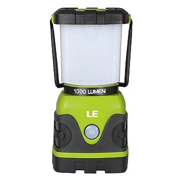 LE 電池式 LEDランタン 超高輝度1000ルーメン 昼白色と電球色 4