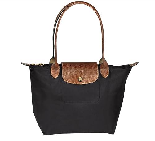 Longchamp Le Pliage Small Tote Bag (Black)  Amazon.co.uk  Shoes   Bags 2d2c0601c012d