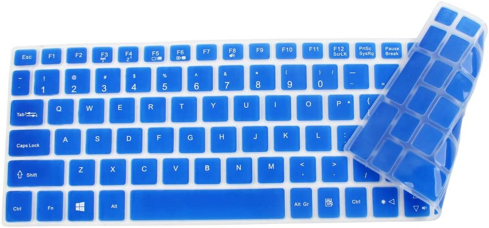 uxcell for acer E5-573 Notebook Laptop Keyboard Protector Skin Film Cover Blue