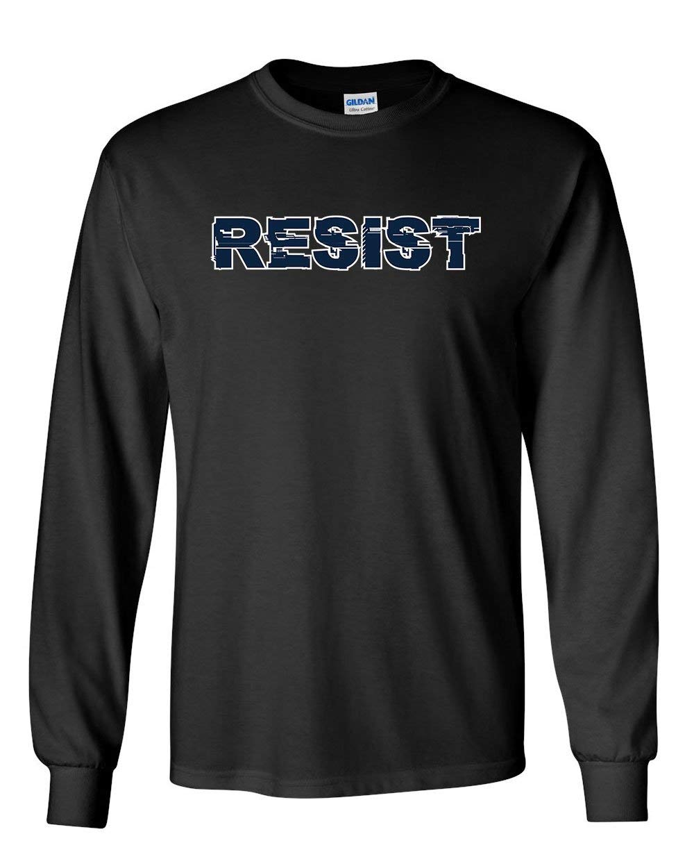 Resist T Shirt Anti Trump Not My President Impeach 45 Patriotic Tee