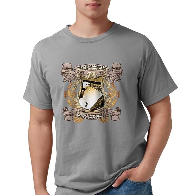 7d4afc77c9b52e Amazon.com  CafePress Ozark Mountain Daredevils T-Shirt Comfort Tee ...