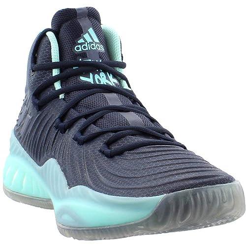 80c6204365de adidas Crazy Explosive 2017 NYC Shoe Men s Basketball Black Size  11.5 UK