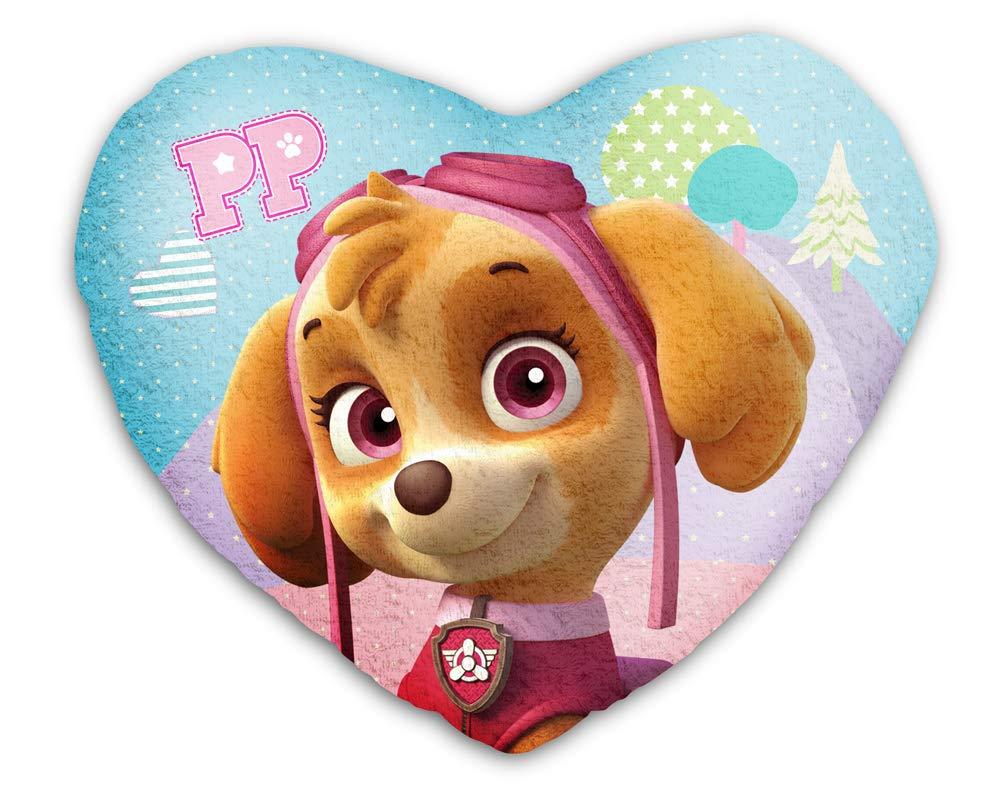 Paw Patrol Kissen Kuschelkissen Formkissen Dekokissen Herzförmig