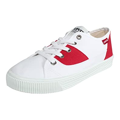 24bd56371e8 Levi's Damen W White Brilliant Größe Sneaker 36 Malibu weiß S Rot rrBwxdqSA