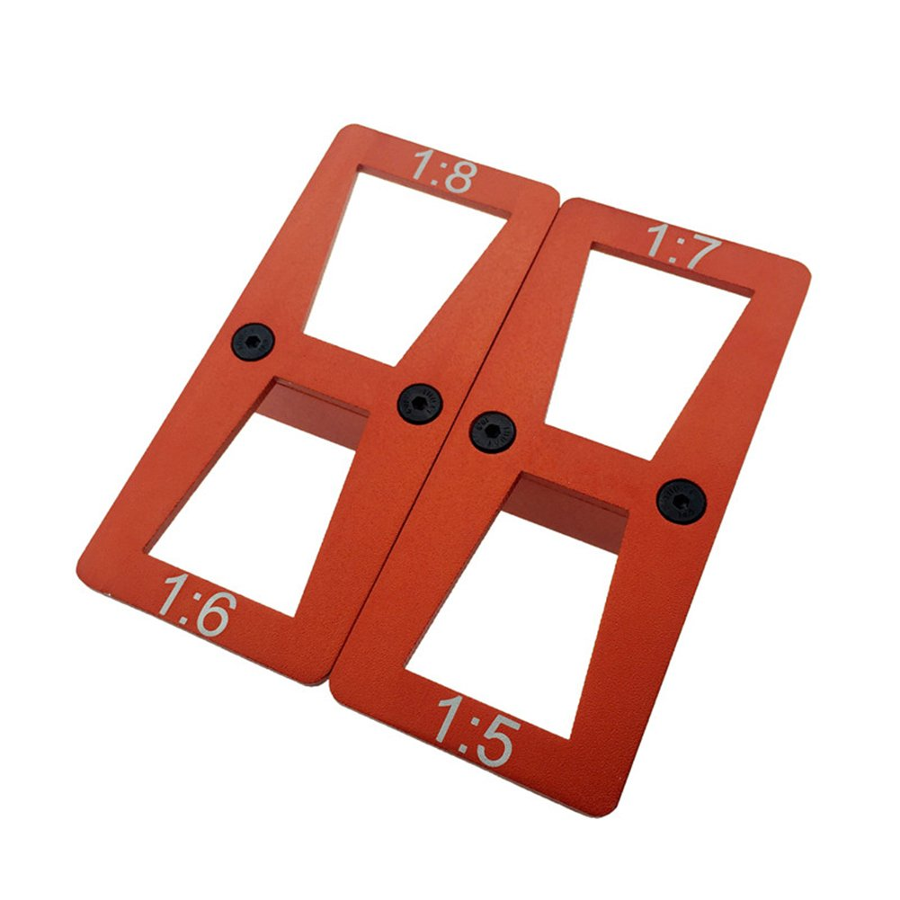 Mini Aluminum Alloy Dovetail Marker Jig Guide Template