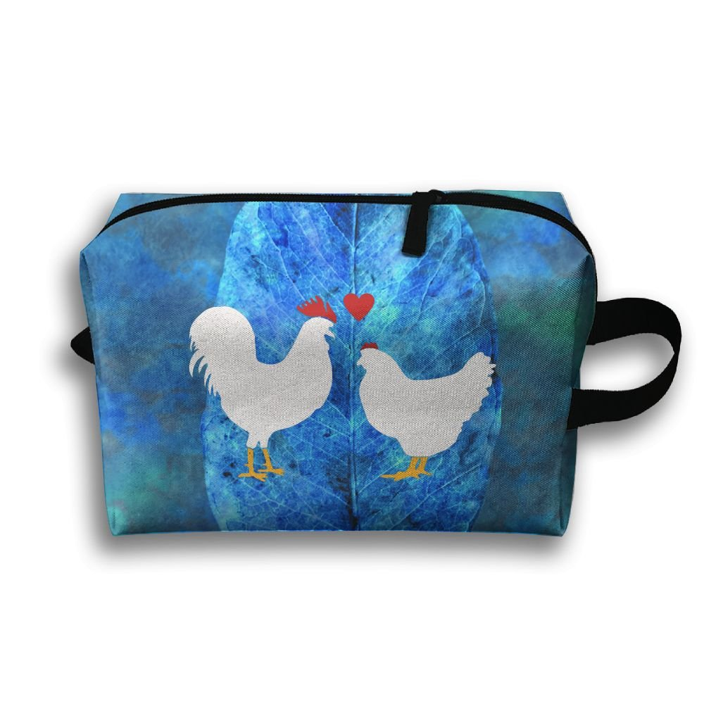 Love Chickens Hens Travel Bag Multifunction Portable Toiletry Bag Organizer Storage by Loddgew (Image #1)