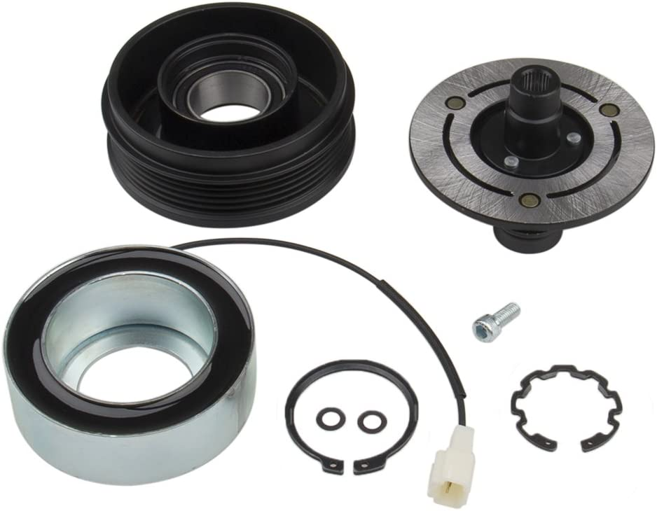 Big Autoparts AC Compressor Clutch Kit for 2003-2009 Mazada 3 5 04-09 Front Plate Bearing Coil Pulley