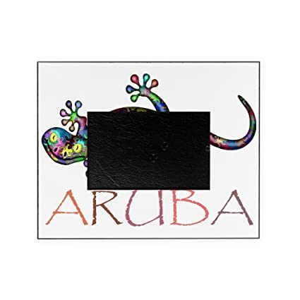 Amazon.com: CafePress - Aruba - Decorative 8x10 Picture Frame: Arts ...