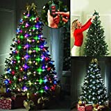48/64 LED Bulbs Tree Dazzler Lamp,Star Shower Christmas Tree Light Decorative Lights Xmas Lights Xmas Decoration Lamps,48led