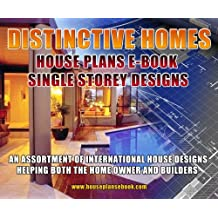 one (1) Story House Plans for double level homes FLOOR PLANS SALE