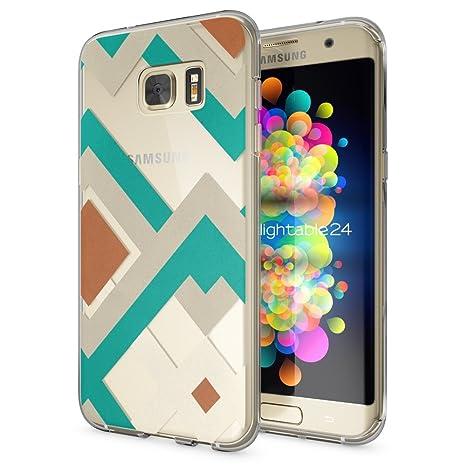 NALIA Coque Protection pour Samsung Galaxy S7 Edge, Housse Motif Silicone  Portable Premium Case Cover 12906e5658e6