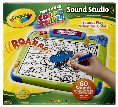 Amazon.com: Crayola Color Wonder Sound Studio: Toys & Games
