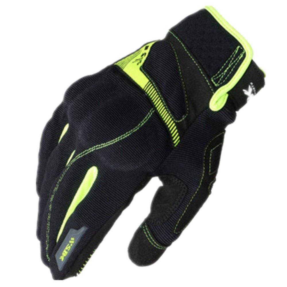 GLJJQMY アウトドアスポーツオートバイ手袋登山ハイキング狩猟釣り手袋、複数の色 グローブ (色 : 緑, サイズ さいず : XL) X-Large 緑 B07Q2JRLJM