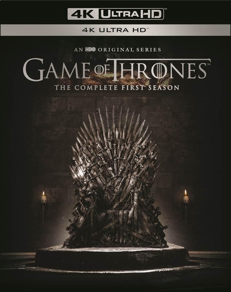 Amazon com: Game Of Thrones: Season 1 (4K Ultra HD) [Blu-ray