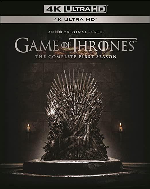 Amazon com: Game Of Thrones: Season 1 (4K Ultra HD) [Blu-ray