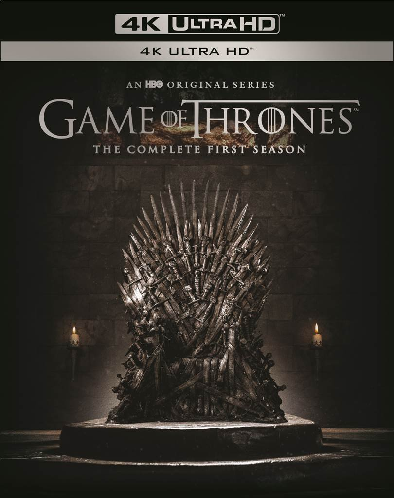 4K Blu-ray : Game Of Thrones: The Complete First Season (Black, 4K Mastering, Boxed Set, Ultraviolet Digital Copy, 4PC)