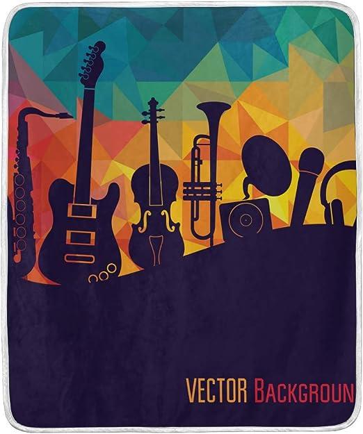 Ahomy Manta diseño de Notas Musicales para Guitarra, Instrumentos ...