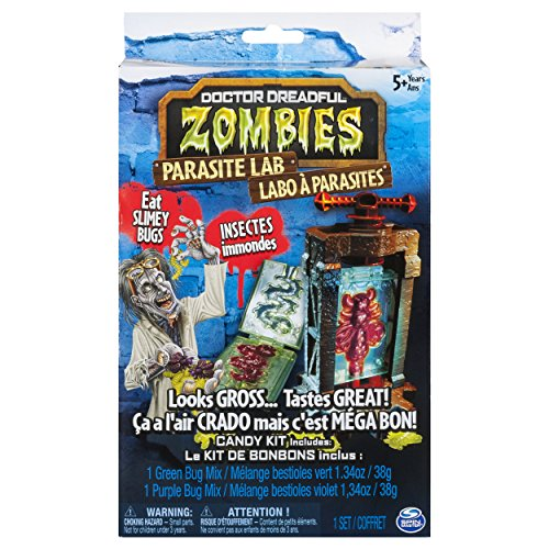 Doctor Dreadful Zombies Parasite Lab