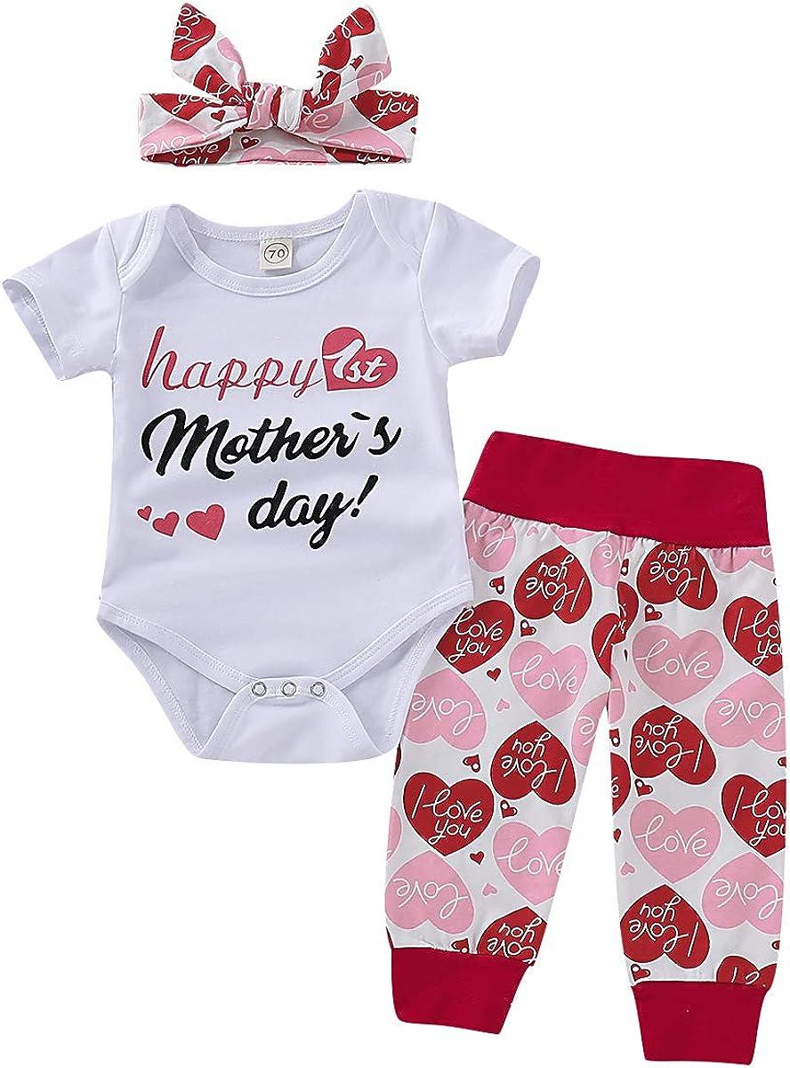 Pantalones Largos Little Man Body para Beb/é Reci/én Nacido Manga Larga Estampado Letras Gorro Conjunto 3 Piezas Oto/ño Primavera para Ni/ños de 0 a 24 Meses