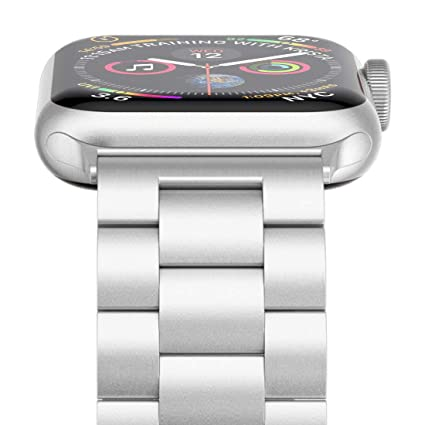 Amazon.com: Apple Watch Banda, wolait banda de acero ...