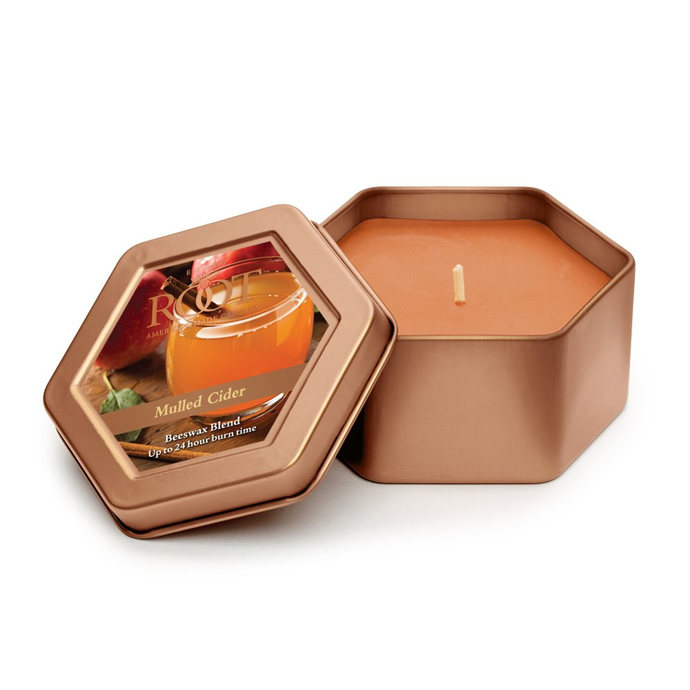 Root Legacy Travel Tin Beeswax Candle, Apple Orchard Root Candles 8864350