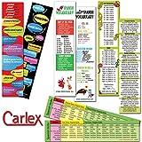 Educational Spanish Bookmarks Set of 4 Packs