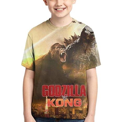 XINXINDY King Kong-Godzilla Playera Unisex de Manga Corta ...