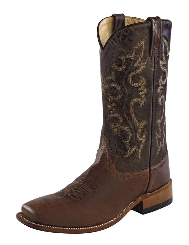Old West Men's Western Cowboy Boot Square Toe - Bsm1846