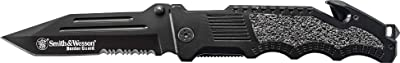 Smith & Wesson Border Guard SWBG2TS 10in High Carbon S.S. Folding Knife