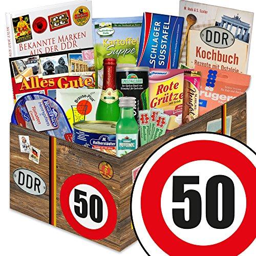 DDR Box XXL / Spezialitäten Korb / Geburtstag 50 / Geschenkset Vater