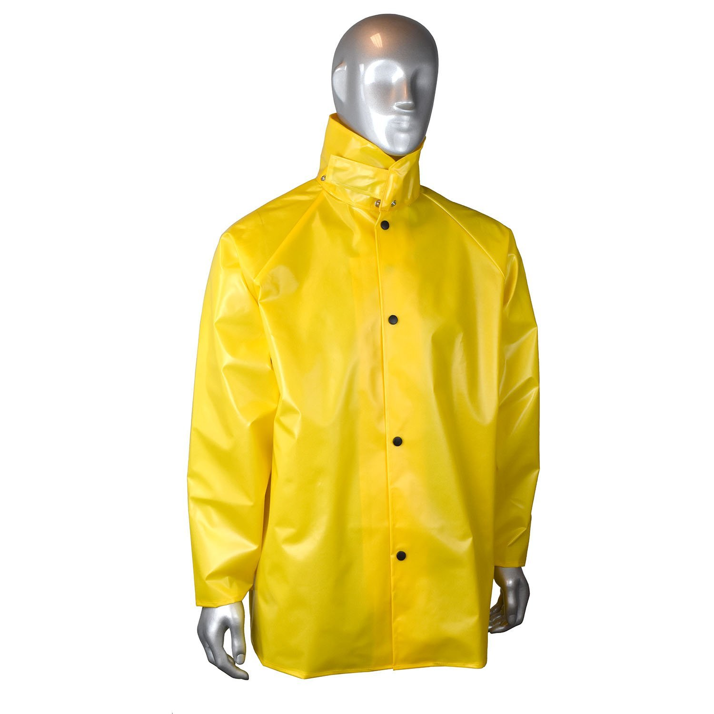 Radians RJ33-NSYY-3X AQUARAD25 TPU//Nylon Rain Jacket Yellow Inc.